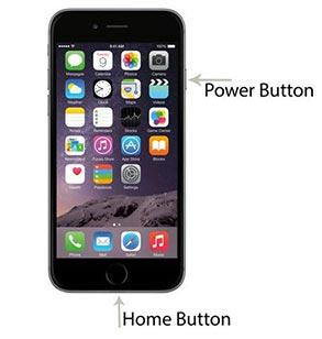 How do I take a screenshot on my iPhone SE, iPhone 5/6/7/8