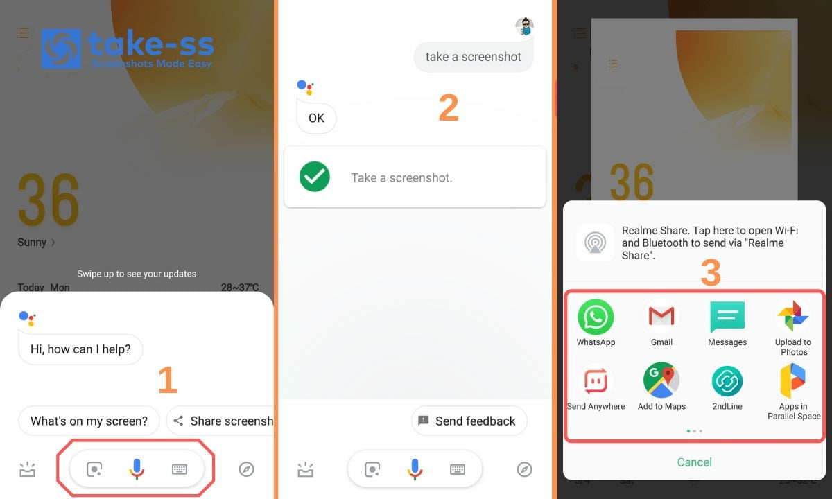 How To Take a Screenshot Using Google Assistant?